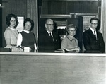 Bridgewater College, Dan Legge (photographer), Treasurer's Office Staff, 1969 by Dan Legge