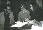 Bridgewater College, Denise Taylor (photographer), Admissions Counselors, circa 1975 by Denise Taylor