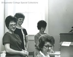 Bridgewater College, Alumni office secretaries, circa 1969 by Bridgewater College
