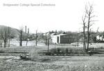Bridgewater College fields behind Alumni Gymnasium, undated by Bridgewater College