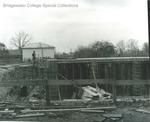 Bridgewater College, Alumni Gymnasium construction, November 1956 by Bridgewater College