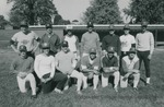 Bridgewater College, Group photo of the Alumni Baseball Team, 5 October 1985 by Bridgewater College