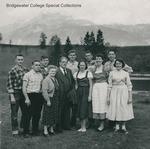 Bridgewater College, Alumni in Europe for a meeting in Austria, 1957 by Bridgewater College