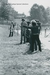 Bridgewater College, Students practicing archery, undated by Bridgewater College