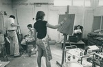 Bridgewater College, Work in progress in the art studio, undated by Bridgewater College