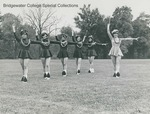 Bridgewater College, Richard Geib (photographer), Marching band majorettes, late 1960s by Richard Geib