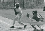 Bridgewater College, Mike Jones at bat, early 1980s by Bridgewater College