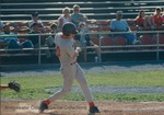 Bridgewater College, Allen Snow at bat, circa 1994 by Bridgewater College