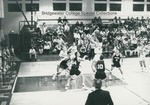 Bridgewater College, Men's basketball action photograph featuring Ashley Watson, 1992 by Bridgewater College