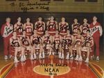 Bridgewater College, Men's basketball signed team portrait, 1995-1996 by Bridgewater College