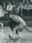 Bridgewater College, Men's basketball action photograph featuring Mike Dayton, circa 1994 by Bridgewater College