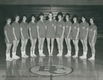 Bridgewater College Women's basketball junior varsity team portrait, circa 1965 by Bridgewater College