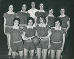 Bridgewater College, Team portrait of the women's basketball team, 1962-1963 by Bridgewater College
