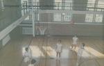 Bridgewater College women's basketball practice, circa 1966 by Bridgewater College