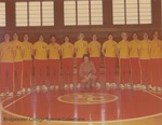 Bridgewater College Women's basketball team portrait, 1976-1977 by Bridgewater College