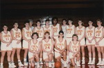 Bridgewater College, Kim Simmons (photographer), Team portrait of the women's basketball team, 1989-1990 by Kim Simmons