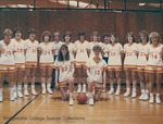 Bridgewater College Women's basketball team portrait, 1987-1988 by Bridgewater College