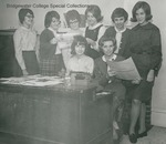 Bridgewater College, Some of the B. C. Bee contributors, circa 1966 by Bridgewater College