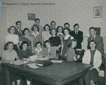 Bridgewater College, B. C. Bee Feature and Sports Staff, 1950 by Bridgewater College