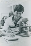 Bridgewater College, A student in the Biology Lab, May 1983 by Bridgewater College
