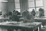 Bridgewater College, Students in the Biology Lab, circa 1966 by Bridgewater College