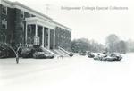 Bridgewater College, Blue Ridge Hall in snow, undated by Bridgewater College