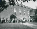 Bridgewater College, Operation Booklift line, 18 Sept 1963 by Bridgewater College