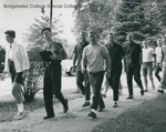 Bridgewater College, people lining up for the Booklift, 18 Sept 1963 by Bridgewater College
