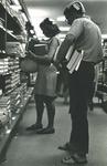 Bridgewater College, Dan Legge (photographer), First year students in beanies in book store, circa 1969 by Dan Legge
