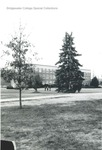 Bridgewater College, Bowman Hall across campus mall, undated by Bridgewater College