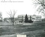 Bridgewater College, Bowman Hall across college mall, undated by Bridgewater College