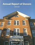 Annual Report of Donors 2018-2019 by Bridgewater College