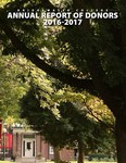 Annual Report of Donors 2016-2017 by Bridgewater College