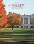 Annual Report of Donors 2015-2016 by Bridgewater College