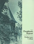 President's Report and Honor Roll of Donors 1976-1977