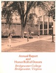 President's Report and Honor Roll of Donors 1974
