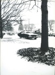 Bridgewater College, Vehicles in parking lot covered in snow, undated by Bridgewater College