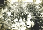 Bridgewater College, Class of 1912 picnic postcard, undated by Bridgewater College