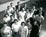 Bridgewater College, Group of students, 1950s by Bridgewater College