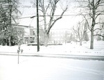 Bridgewater College, Campus during snow, undated by Bridgewater College