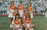 Bridgewater College, cheerleaders, early 1990s by Bridgewater College