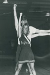 Bridgewater College, Cheerleaders Paul Brian and Lisa Neal, 1990 by Bridgewater College