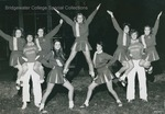 Bridgewater College, Group Portrait of the Fall Cheerleaders, 1980 by Bridgewater College