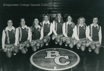 Bridgewater College, Ed Novak (photographer), Group portrait of the Basketball Cheerleaders, 1975-1976 by Ed Novak