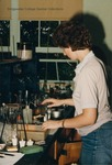 Bridgewater College, A student in the Chemistry Lab, Sept 1985 by Bridgewater College