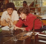 Bridgewater College, Students in the Chemistry Lab, undated by Bridgewater College