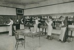 Bridgewater College, Early photograph of the chemistry lab, undated by Bridgewater College