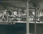Bridgewater College, Chemistry lab in Memorial Hall, undated by Bridgewater College