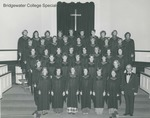 Bridgewater College, Concert Choir group portrait, circa 1976 by Bridgewater College