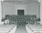 Bridgewater College, Oratorio Choir group portrait, circa 1970 by Bridgewater College